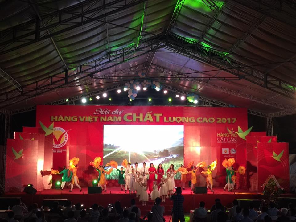Hội chợ hàng Việt Nam chất lượng cao 2017 tại Thành phố Đà Nẵng
