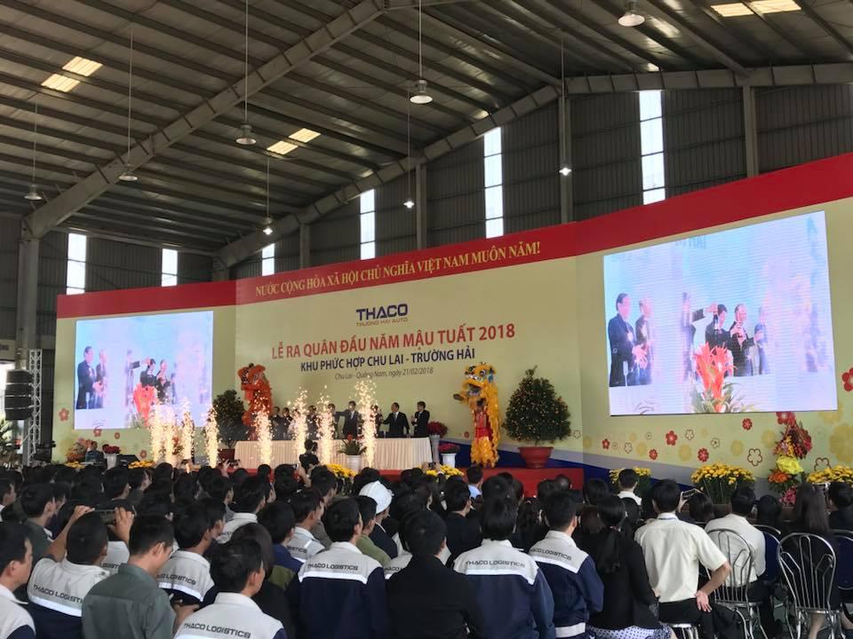 Lễ ra quân đầu năm Mậu Tuất 2018 – Khu phức hợp Chu Lai – Trường Hải